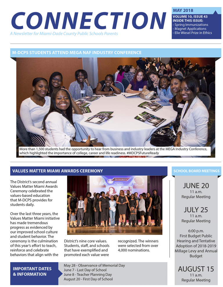 May Connection Newsletter