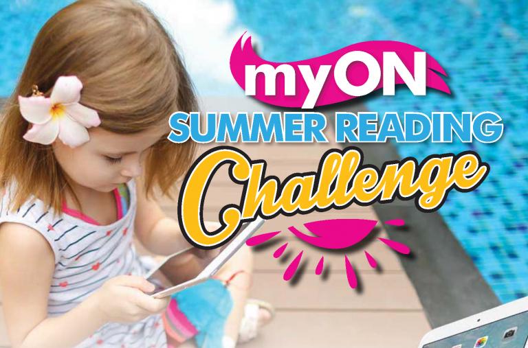 2018 myON Summer Reading Challenge Flyer