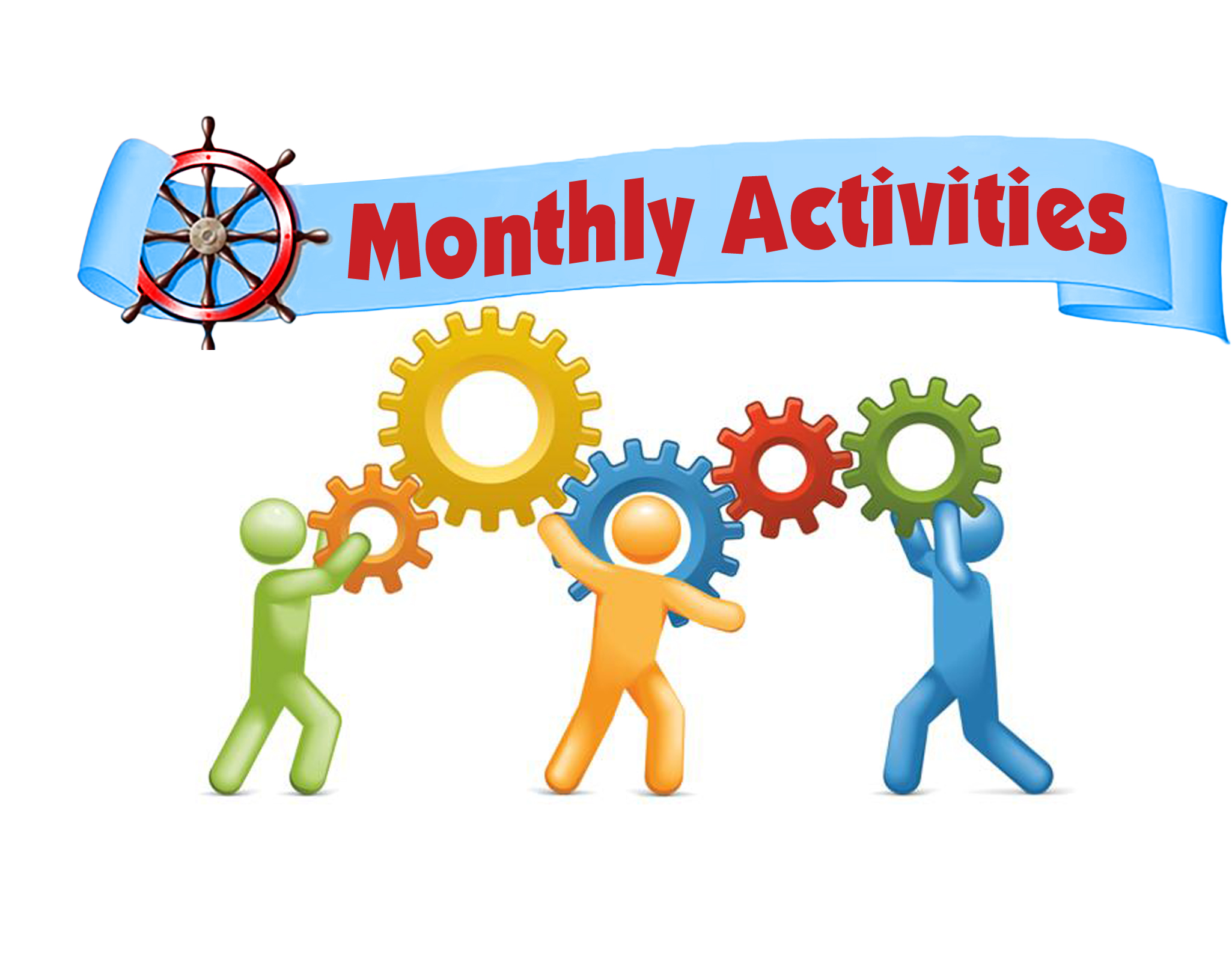 Image result for monthly Activities clip art